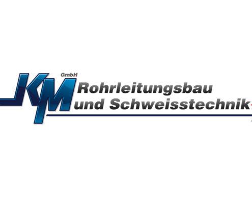 Logoerstellung | KM Rohrleitungsbau und Schweißtechnik