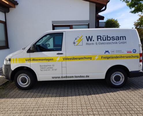 Fahrzeugbeschriftung | Repa GmbH Elektrotechnik