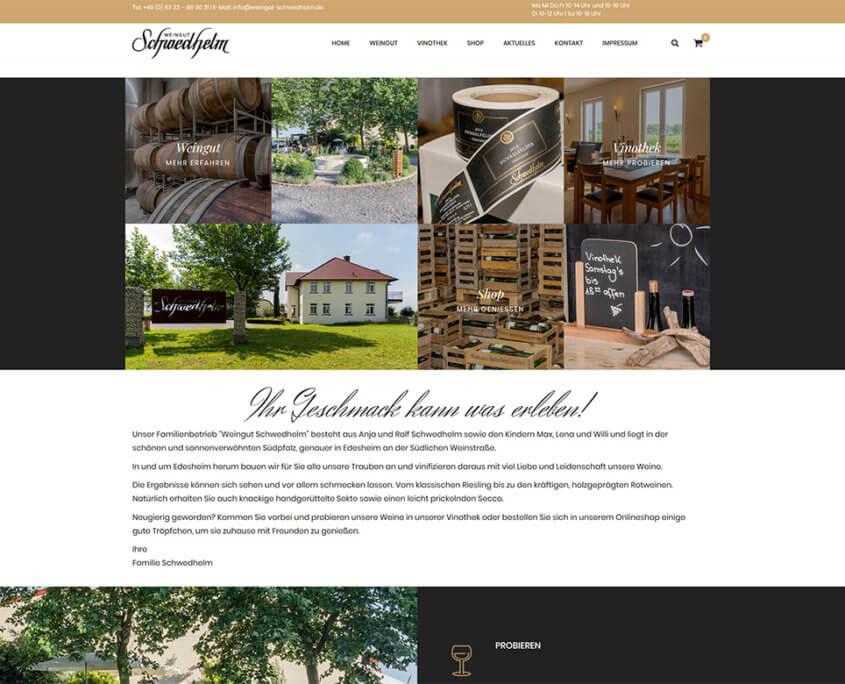 Website Schwedhelm neu