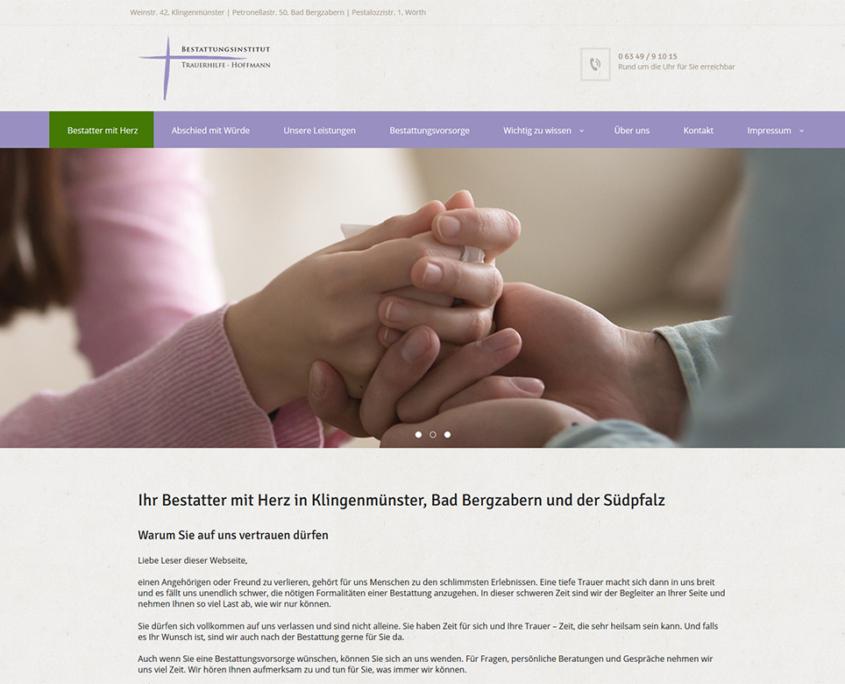 Bestattungsinstitut Trauerhilfe Hoffmann