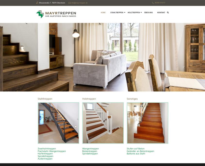 Website Mayr Treppen