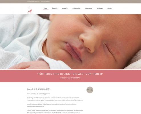 Website hebe-amme